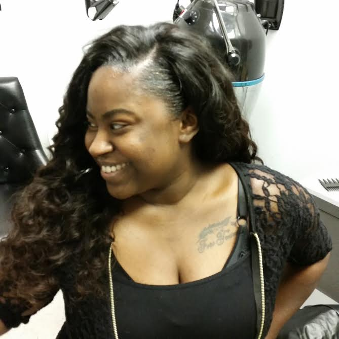 sew in weave hairstyles with hair left out hairstyles