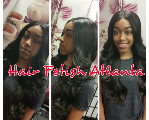 Middle Part Sew In