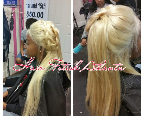 Platinum Blonde 360 Frontal Installation