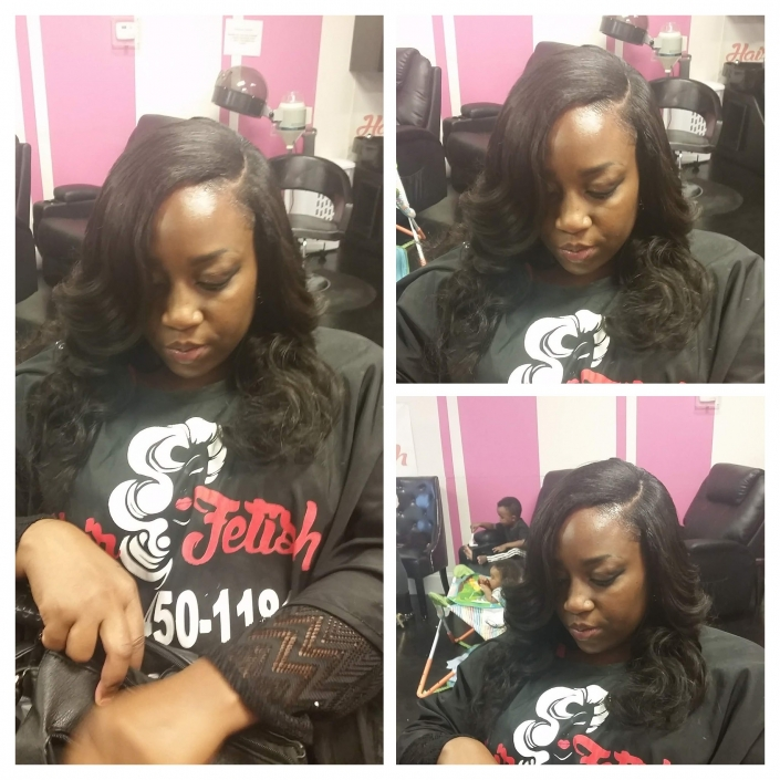 Traditional Side Part Sew In