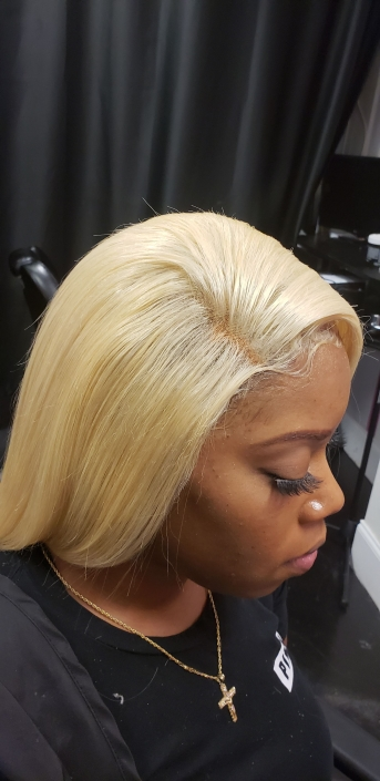 Lace Frontal Platinum Blonde