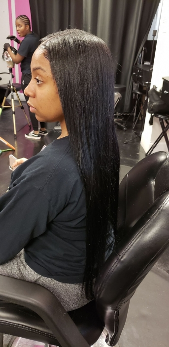 Straight Bundles Middle Part Sew Ins